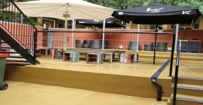 Uni SA Adelaide – courtyard concrete repair and polyurethane anti slip coating